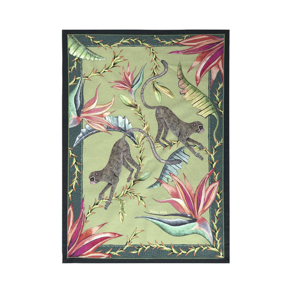 Tea Towel - Monkey Paradise Delta
