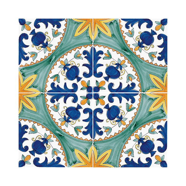 Antichi Decori - Cilento Set de 25 Carreaux en Céramique 20 x 20 cm
