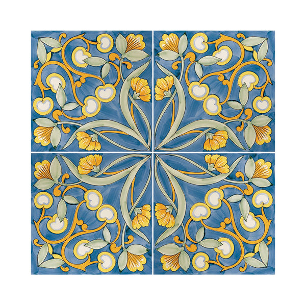 Antichi Decori - Polvica Set of 25 Ceramic Tiles 20 x 20 cm
