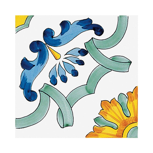 Classico Vietri - Maria Terersa Set of 25 Ceramic Tiles 20 x 20 cm