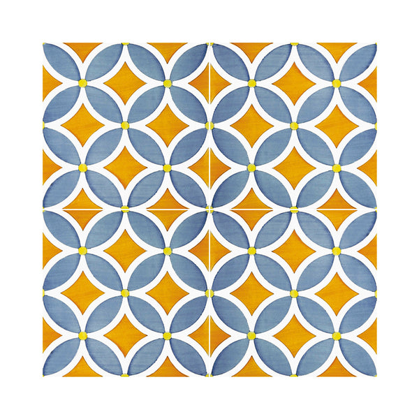 Lineamenti - Plagiano Set of 25 Ceramic Tiles 20 x 20 cm