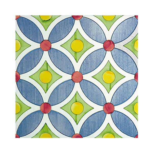 Lineamenti - Tarì Set of 25 Ceramic Tiles 20 x 20 cm