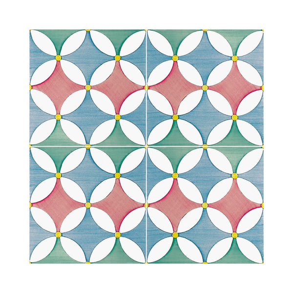 Lineamenti - Falerzo Set of 25 Ceramic Tiles 20 x 20 cm