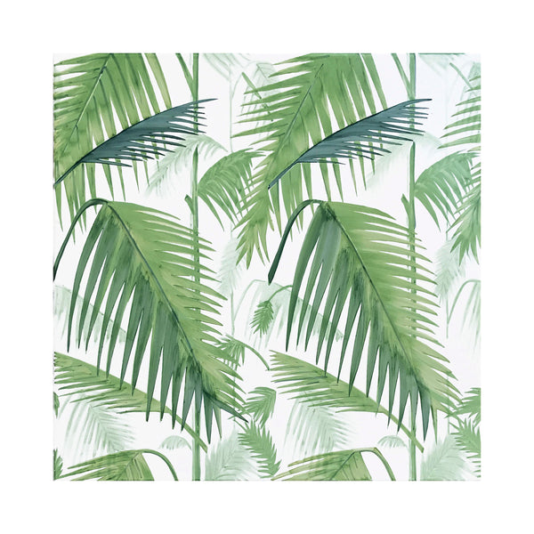 Verde Verticale - Palm Set de 4 Carreaux en Céramique 53 x 53 cm