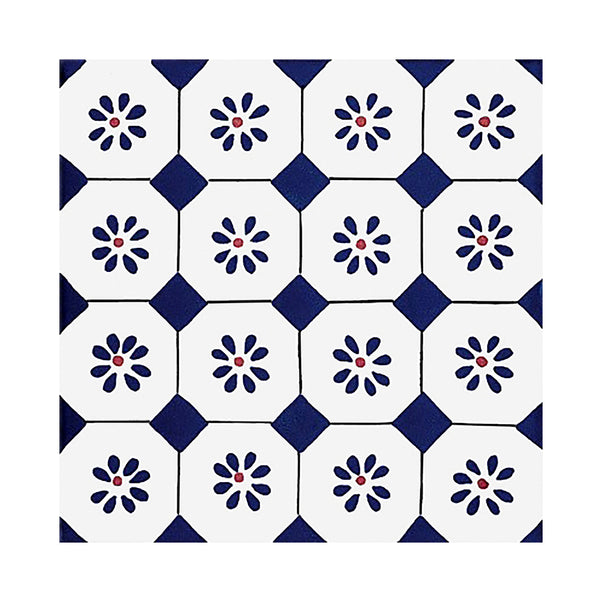 Antico Vietri - Sapri Set of 25 Ceramic Tiles 20 x 20 cm