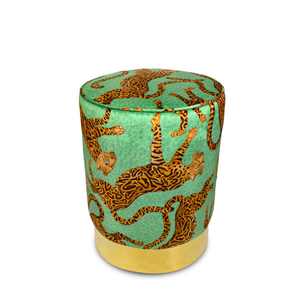 Pouffe - Cheetah Kings - Velours