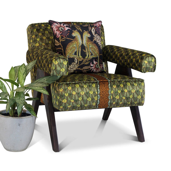 Chair - Zambezi Feather River Green - Velours