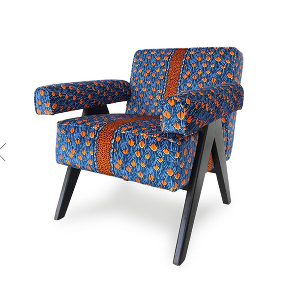 Chair - Zambezi Feather Royal - Velvet