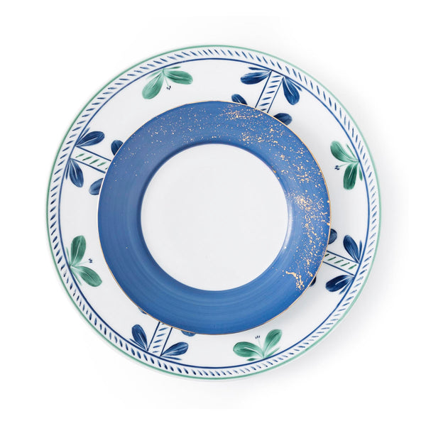 Golden Blue - Dessert Plate