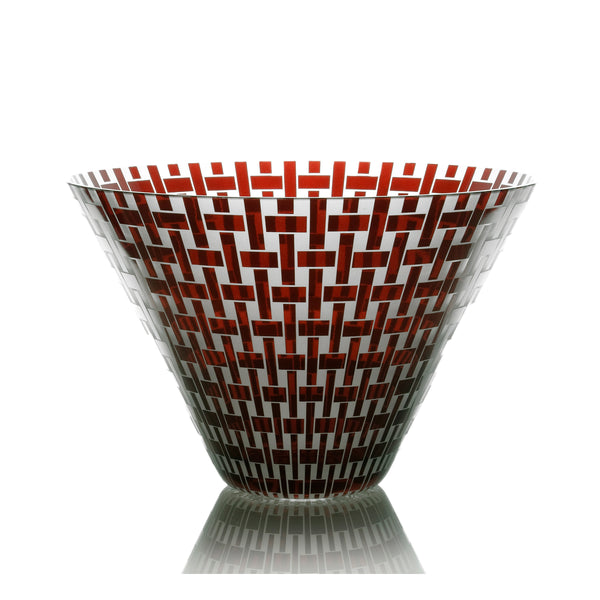 Weave - Red Large Bowl