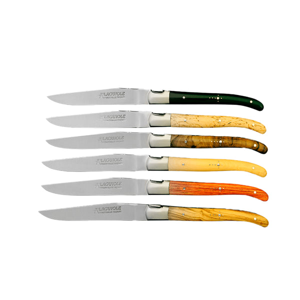 Laguiole - Box of 6 Knives