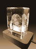 3D Crystal Laser Engraved Large Iceberg, Laser Engraved with Your Photo, Personalized Photo Gift, 3D Laser Engraved Etched Crystal - 1 Person