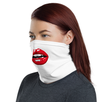 Red lips Neck Gaiter / Face Mask