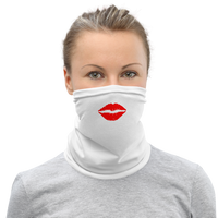 Lipstick Kiss Neck Gaiter / Face Mask