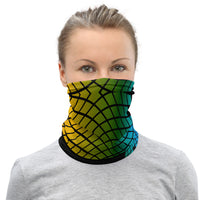 Abstract Rainbow Neck Gaiter / Face Mask