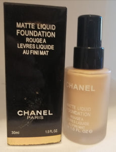 CHANEL MATTE LIQUID FOUNDATION FARD