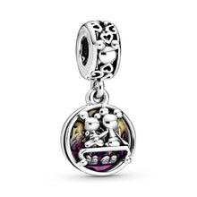 Load image into Gallery viewer, New Cartoon Mickey Minnie Beads for Women Jewelry Making Fit Original Pandora Charms Bracelet Fine Pulsera Pendant Girl Gift DIY