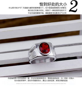 100%925 silver ethnic style fashion  men's ring never fades