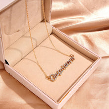 Load image into Gallery viewer, Kasajewel Gold Silver Color Butterfly Pendant Necklace Female Shiny Crystal Clavicle Chain Fashion New Design Jewelry Party Gift