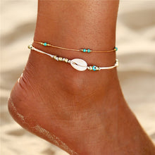 Load image into Gallery viewer, Bohemian Multi Layers Chain Anklet Ankle Bracelet Simple Summer Ocean Beach Anklet for Women Foot Leg Bracelet Jewelry 2020