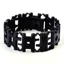 Load image into Gallery viewer, 2.45cm Tread Outdoor Spliced Bracelet Multifunctional Wearing Screwdriver Tool Hand Chain Field Survival Bracelet Accessories