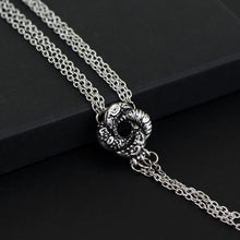 Load image into Gallery viewer, BOND Girl Movie Necklace Algerian Love Knot Silver Plated Necklace