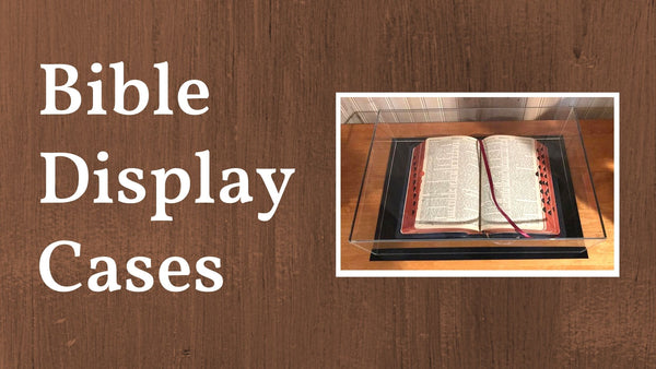 Bible Display Cases