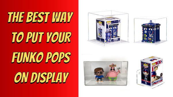 The Best Way To Put Your Funko Pops on Display