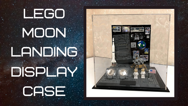 The LEGO Moon Landing Display Case