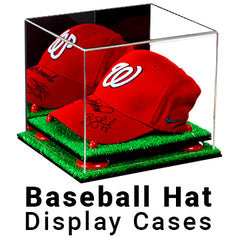 Baseball Hat Display Cases