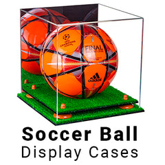 soccer ball display cases
