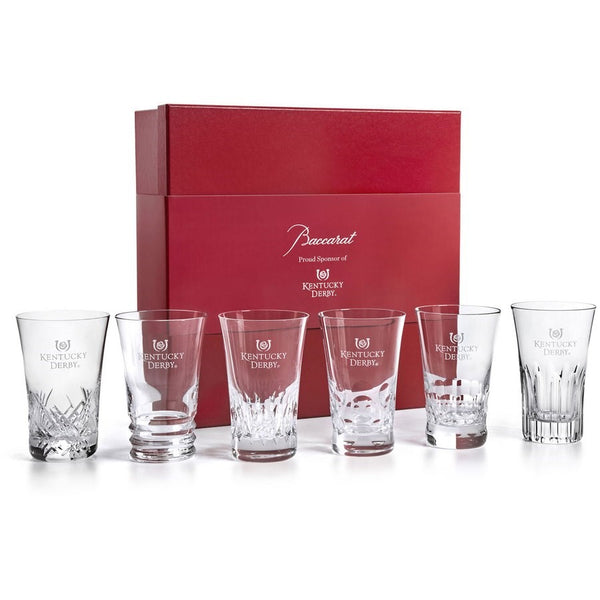 Kentucky Derby Baccarat crystal glasses