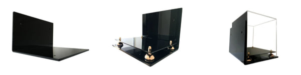 Wall Mounts for Display Cases made by Better Display Cases