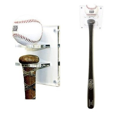 Vertical Bat and Baseball Holder