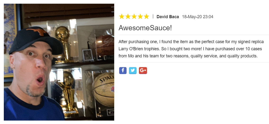 Nice review by one of our great customers!