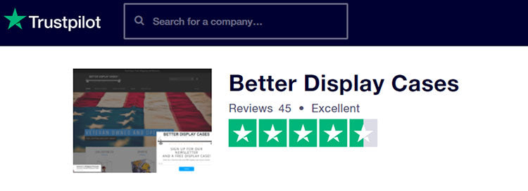 Better Display Cases Customer Service Reviews on Trustpilot