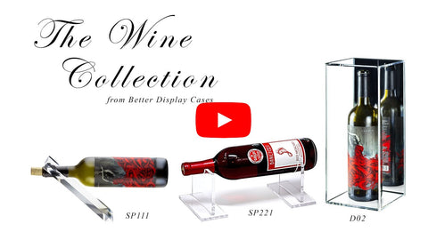 wine display gift accessories