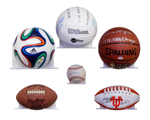 Floating Shelf Display For all Size Collectible Sports Balls, Display Case, Better Display Cases, Better Display Cases - Better Display Cases