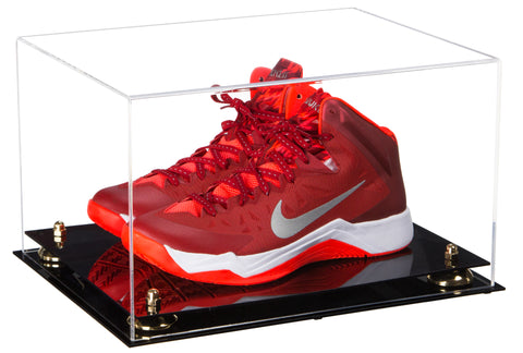 Deluxe Clear Acrylic Basketball Shoe Pair Display Case with Risers (A082), Display Case, Better Display Cases, Better Display Cases - Better Display Cases