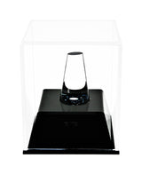 Deluxe Clear Acrylic Championship School Ring Display Case with Drawer