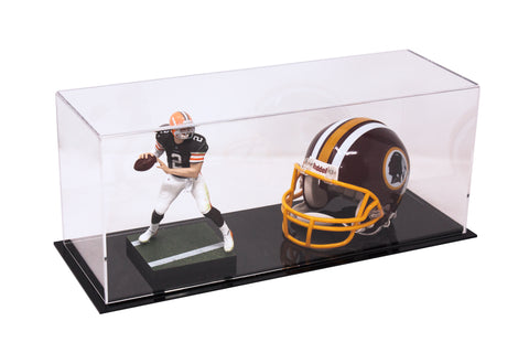 Clear Black Base Table Top Display Case