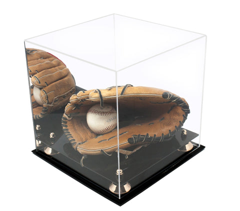 Medium Square Display<br>Case with Mirror<br><sub>11 x 11 x 11, Display Case, Better Display Cases, Better Display Cases - Better Display Cases