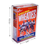 Deluxe Acrylic Wheaties Cereal Box Display Case (A020), Display Case, Better Display Cases, Better Display Cases - Better Display Cases