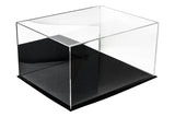 "Acrylic Deluxe Table Top Display Case<br>Medium Rectangle Box<br><sub>15.25"" x 12"" x 9"" (A025-DS), , Better Display Cases, Better Display Cases - Better Display Cases"