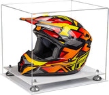 Acrylic Motorcycle Nascar or Motocross Racing Helmet Display Case