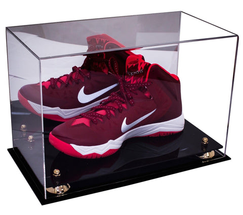 Basketball Shoe <br> Display Case With Mirror<br> <sub> For NBA, NCAA, and more </sub>