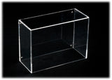 Deluxe Clear Acrylic Golf Ball Display Case<br><sub>with Black Back and Turf Floor (A045-TB), Display Case, Better Display Cases, Better Display Cases - Better Display Cases