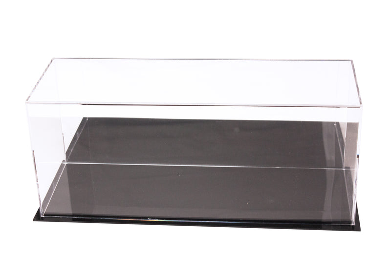 "Acrylic Deluxe Table Top Display Case with UV Protection<br>Large Rectangle Box<br><sub>17"" x 6"" x 7"" (A019-DS), Display Case, Better Display Cases, Better Display Cases - Better Display Cases"