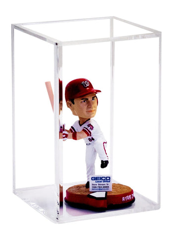 Collectible Bobblehead <br> Display Case <br> <sub> McFarlane, dolls, and more! </sub> - Better Display Cases