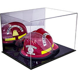 Mirrored Fireman's Helmet Case